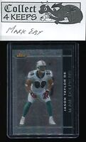 2007 Topps Finest Black Refractor #95 Jason Taylor (Miami Dolphins) #d 86/99