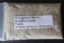 Florida St Augustine Beach Sand Sample