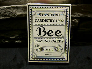 Bee Quality Black Test Deck Playing Cards