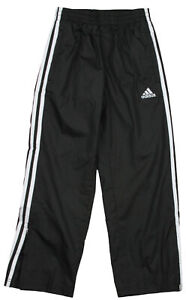 Adidas Youth Boys Core Revolution Athletic Work Out Gym Track Pants, Black