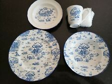 Four (4) Disney Winnie The Pooh Stoneware Place Settings - New, Never Used