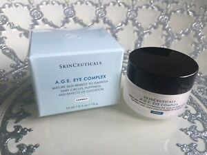SkinCeuticals A.G.E. Eye Complex 0.5oz / 15ml dark circles BRAND NEW AND SEALED!