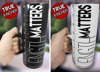 Length Matters Mug Novelty Tea Coffee Cup Fun Funny Men's Gift White Black