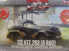 Sd.Kfz. 263 (6Rad) Panzerspähwagen - Wrzesien Bausatz 1:72 -  076  #E