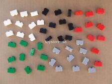 50 New Lego City Train Car House 1x2 2877 Grill Brick Mix Colors Bulk Lot Set