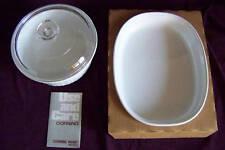Corning Ware French White casserole dish roast pan BNIB
