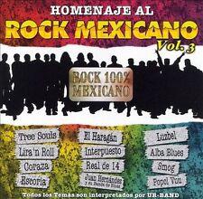 Homenaje al Rock Mexicano, Vol. 3 by Various Artists (CD, Jan-2007, Jalapeno Rec