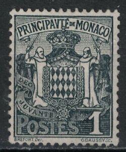MONACO:1924-33 SC#60 MH Grimaldi Family Coat of Arms T288