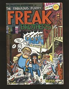 Fabulous Furry Freak Bothers Collected Adventures 1971 VG/Fine Cond.
