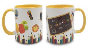 Tasse Schulanfang - in 12 Farben - Schulkind Schulbeginn Einschulung Geschenk