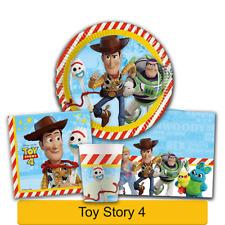 Disney Toy Story 4 Fiesta Cumpleaños Gama - Vajilla Suministros Decoración