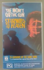 THE MONEY OR THE GUN - STAIRWAYS TO HEAVEN RARE FACTORY SEALED PAL VHS ABC VIDEO