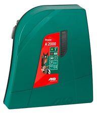 Weidezaungerät Power A 2000 Elektrozaun digital Batterie Akku Mobil Solormodul