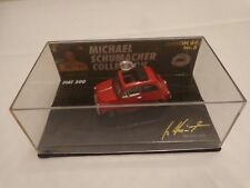 MINICHAMPS 1/64 'MY FIRST CAR' FIAT 500 MICHAEL SCHUMACHER COLLECTION NR.8 CAR