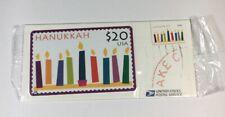 USPS First Class $20 Phone Card Hanukkah 1998 Amex Telecom