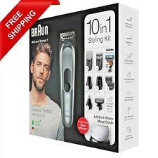 Braun 10-in-1 Beard Trimmer for Men Body Grooming Kit & Hair Clipper MGK7221 New