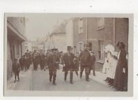 Social History Band Parade Kent Vintage RP Postcard E Squires Dover  645b