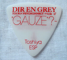 RARE! DIR EN GREY Toshiya pick Tour14 Psychonnect mode of GAUZE visual kei