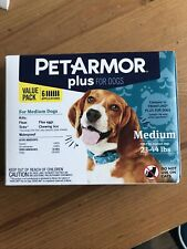 Pet Armor Plus for Dogs Small 5-22 lbs. Kills Fleas Ticks 6-pack Value Size