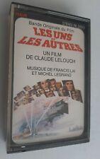 """Claude Lelouch """"Les uns et les autres""""- K7 / cassette audio / Tape"""