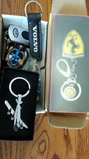 Collectible vehicle (Ferrari), corporate, club and other various keychains