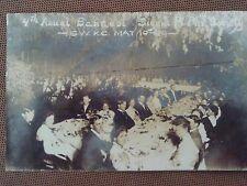 RARE 1909 RPPC POSTCARD COLLEGE BANQUET SIGMA PI PHI SOCIETY KANSAS CITY MO