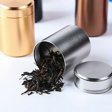 70ml ALUMINUM HERB STASH JAR AIRTIGHT SMELL PROOF HERBS SPICES STORAGE CANISTER