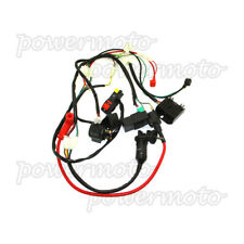 Wiring Loom Harness Key Switch Ignition CDI Kit For Zongshen 190cc Motorcycle