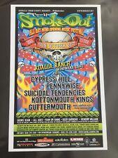 Cypress Hill Smokeout Original Hawaii Concert Poster Free Shipping