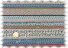 Stripe Amarina ecru bleu Sweatshirtstoff Hilco Sweaty Streifen dehnbar 25 cm