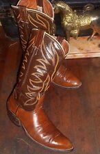Vintage NOCONA Cowboy Boots NOCONA Pull On Western Boots NOCONA 4782 Boots 9