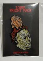 Zobie Fright Pack Halloween Enamel Pin #x/600 New Factory Sealed Limited