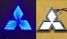 3D LED Car Tail Logo Blue Light for Mitsubishi Outland Lancer Auto Badge Light