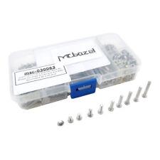 DIN7985 Stainless Steel M3 Philips Pan Head Screws Nuts Kit (340 pcs)(0135-0007)