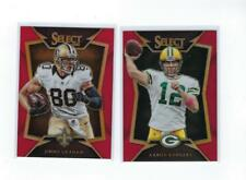 2 * AARON RODGERS & JIMMY GRAHAM * 2014 SELECT RED REFRACTOR LOT # 99 PACKERS!