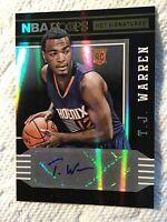 2014-15 Hoops TJ Warren #78 Hot Signatures Rookie RC Auto T.J. Warren  Pacers