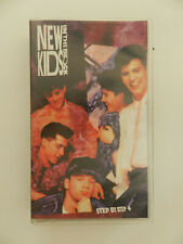 VHS Video Kassette New Kids on the Block Step by step