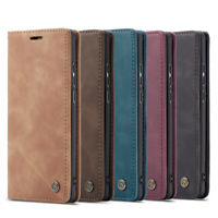 CaseMe Leather Flip Wallet Card Stand Case Cover For Huawei P30 Pro P Smart 2019