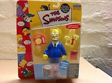 THE SIMPSONS WORLD OF SPRINGFIELD INTERACTIVE FIGURE SUNDAY BEST HOMER SERIES 3