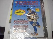 POSTER / MANIFESTO KEN SHIRO / KENSHEMO  IL GUERRAIOLO ZERO PRESS 2003