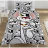 Danger Mouse Penfold Single Panel Duvet Cover Bed Set New Gift 2 in 1 Reversible