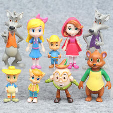 Goldie and Bear Fairytale Friends Figure Toys Gift Cake Toppers/9 PCS  US STOCK