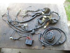1985 or 1986 CAGIVA ELEFANT 650 WIRING HARNESS FUSE BLOCK AND HORN