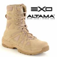 """Altama Men's 3858 Desert Tan 8"""" EXO Combat/Tactical/Swat Boots--Special"""