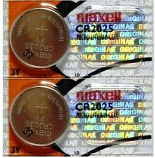 2 CR2025 REPLACEMENT BATTERIES COMPATIBLE{*} w Ozeri Kandle 2 Pack MAXELL