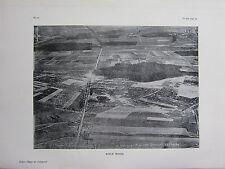 1918 WWI WW1 PRINT ~ RIFLE WOOD AERIAL VIEW