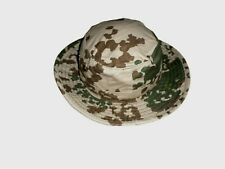 Genuine German Tropical Camouflage Boonie Hat Bucket Hat Desert Pattern 7 1/4