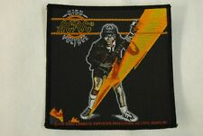 AC/DC HIGH VOLTAGE LIGHTNING WOVEN PATCH NEW OFFICIAL ANGUS YOUNG BON SCOTT