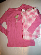 Nwt Gymboree~Butterfly Sleep~2 Pc Pink Plaid Gymmies Size 18/24m