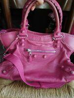 Balenciaga giant leather bag 100% Authentic city  retail 1850 $ handbag